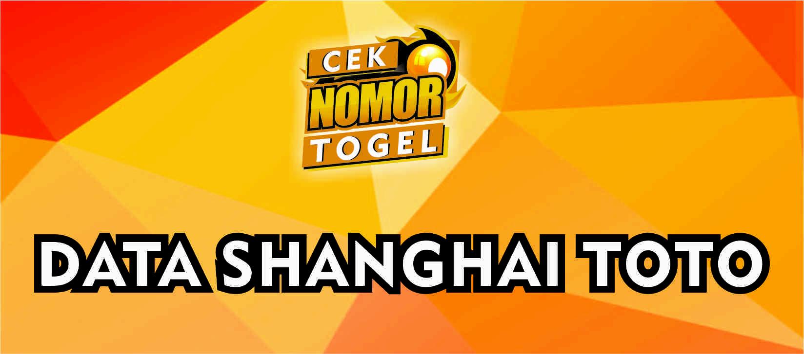 Data Lengkap Pengeluaran Shanghai