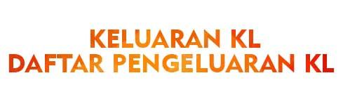 Keluaran KL Daftar Pengeluaran KL Semarang Kuda Lari